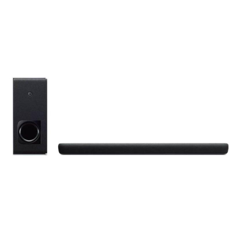 Soundbar Yamaha YAS-209 Bluetooth Surround Virtual 3D Subwoofer sem fio Controle de voz Alexa Preto