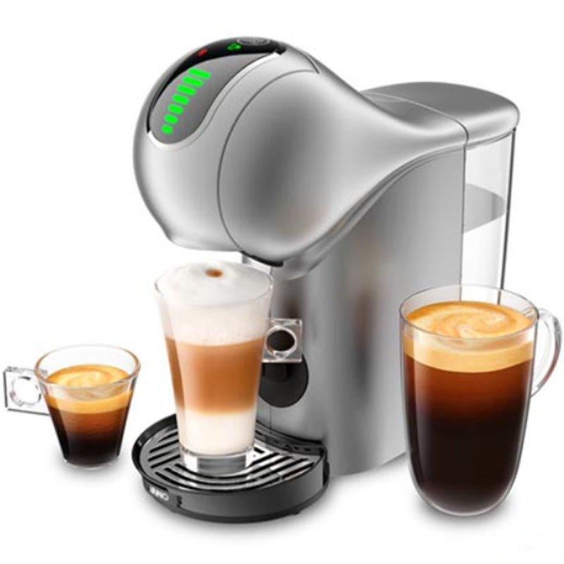Cafeteira Espresso Nescafé Dolce Gusto Gênio S Touch DGS4 220V 30 Tipos de bebidas Prata
