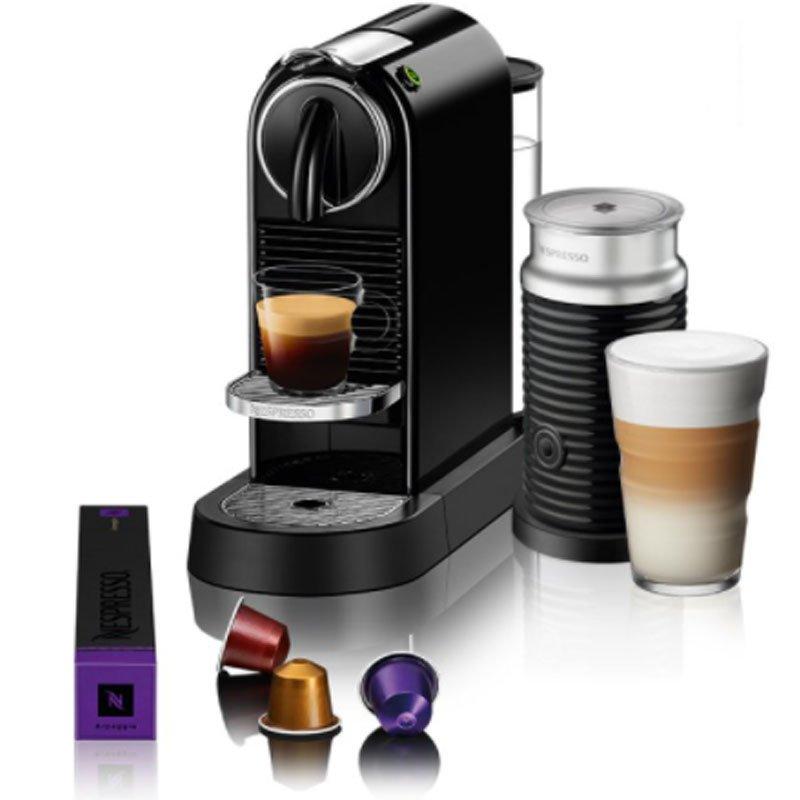 Máquina de Café Nespresso Citiz D113 Preto com Aeroccino 3 220V