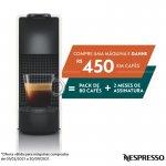 REEMBALADO Máquina de Café Nespresso Essenza Mini C30 127V Branca