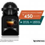 Máquina de Café Nespresso Inissia Preta com Desligamento Automático 220V
