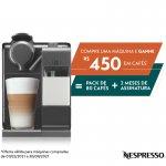 Máquina de Café Nespresso Nova Lattissima Touch Preta 220V