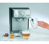Máquina de Café Expresso Krups Pump & Steam / 1450W / Preto e Prata / 220V