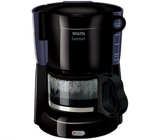Cafeteira Walita Confort RI7460 / Preta / 220V