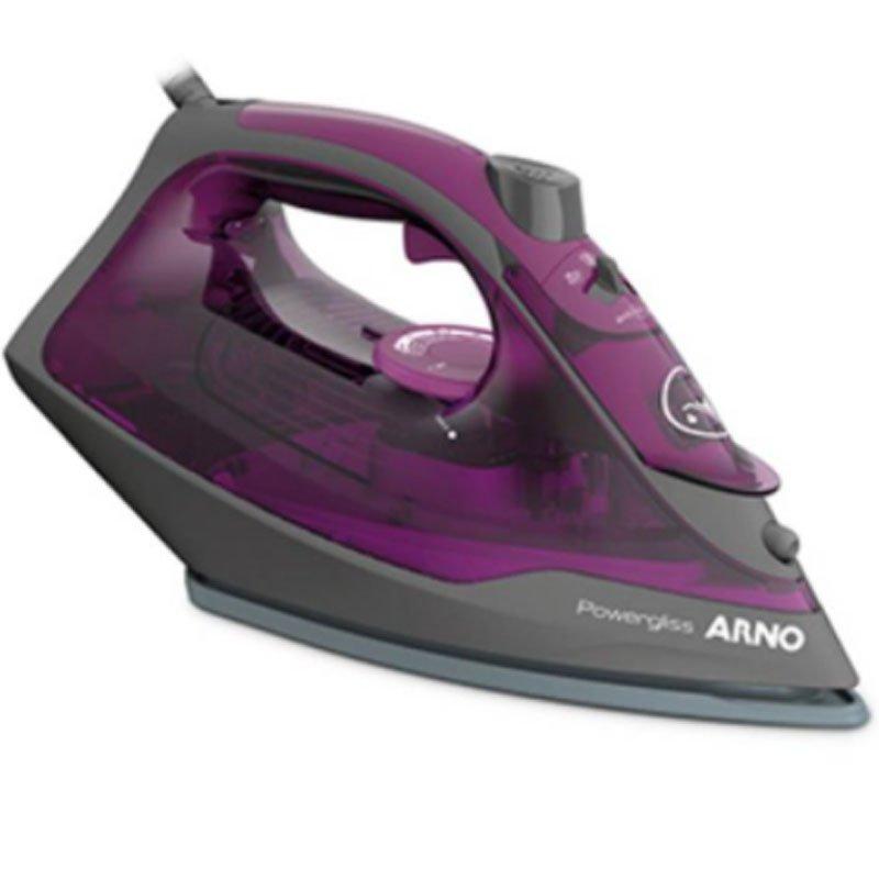 Ferro a Vapor Arno Powergliss FPO1 127V 270ML Alça Ergonômica Violeta