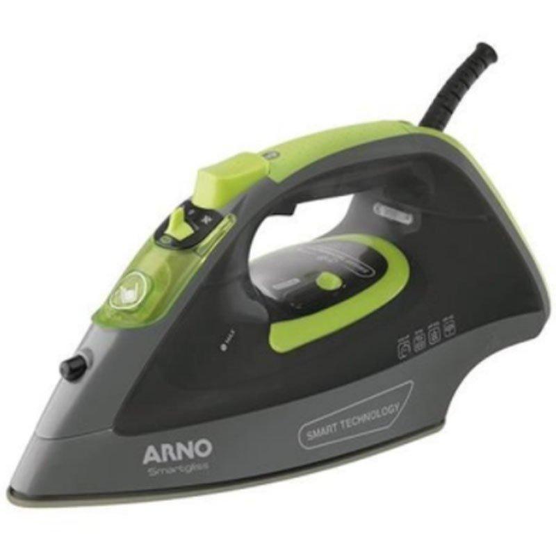 Ferro A Vapor Arno Smartgliss 220V Cinza e Verde