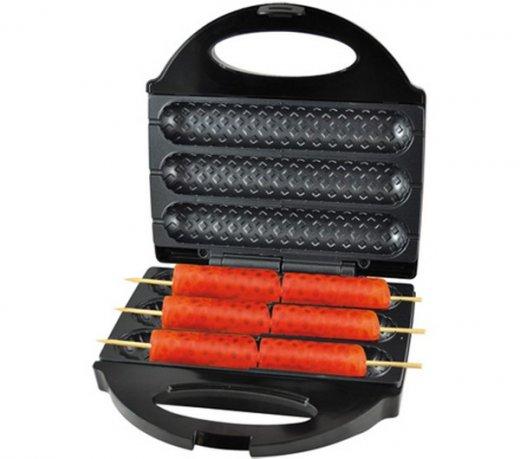 Crepeira e Hot Dog Britânia / Antiaderente / Acabamento Em Inox / 220V