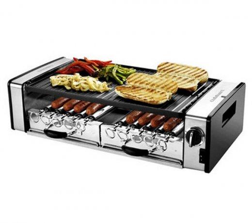 Grill Elétrico Cuisinart GC-17 / 3 Em 1 / Potência 1600W / Em Aço Escovado / 110V