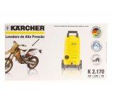 Lavadora de Alta Pressão Karcher K2.170 / Econômica / 110V