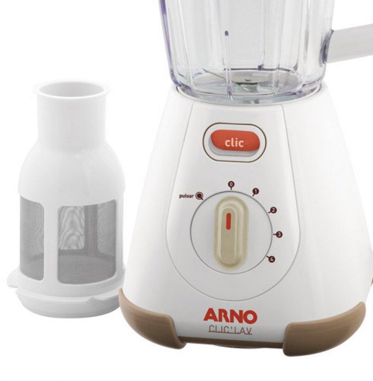Liquidificador Arno LN70 / ClicLav / 4 Velocidades / Branco / 110V