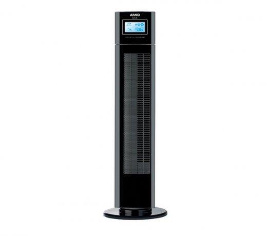 Ventilador de Torre Arno Eole EOLC / 3 Velocidades / Função Timer / Preto / 110V
