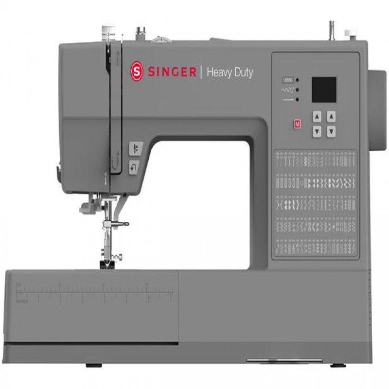 Maquina de Costura Singer Heavy DutyCinza HD 6605 BIVOLT