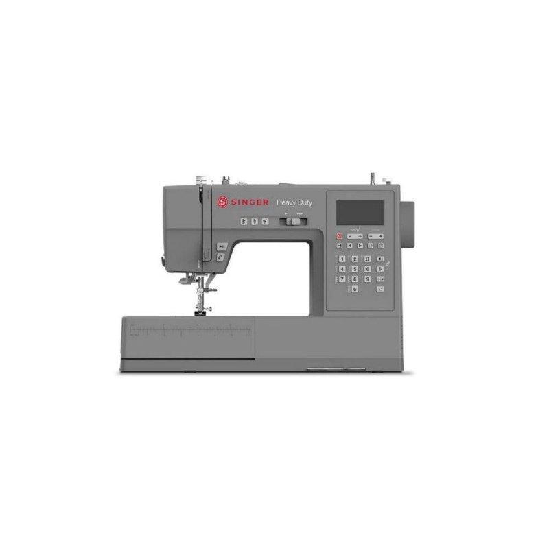 Maquina de Costura Heavy Duty Singer Cinza HD 6805 BIVOLT