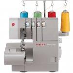Máquina de costura Singer overloque Ultralock 14HD portatil de uso domestico 127V cinza