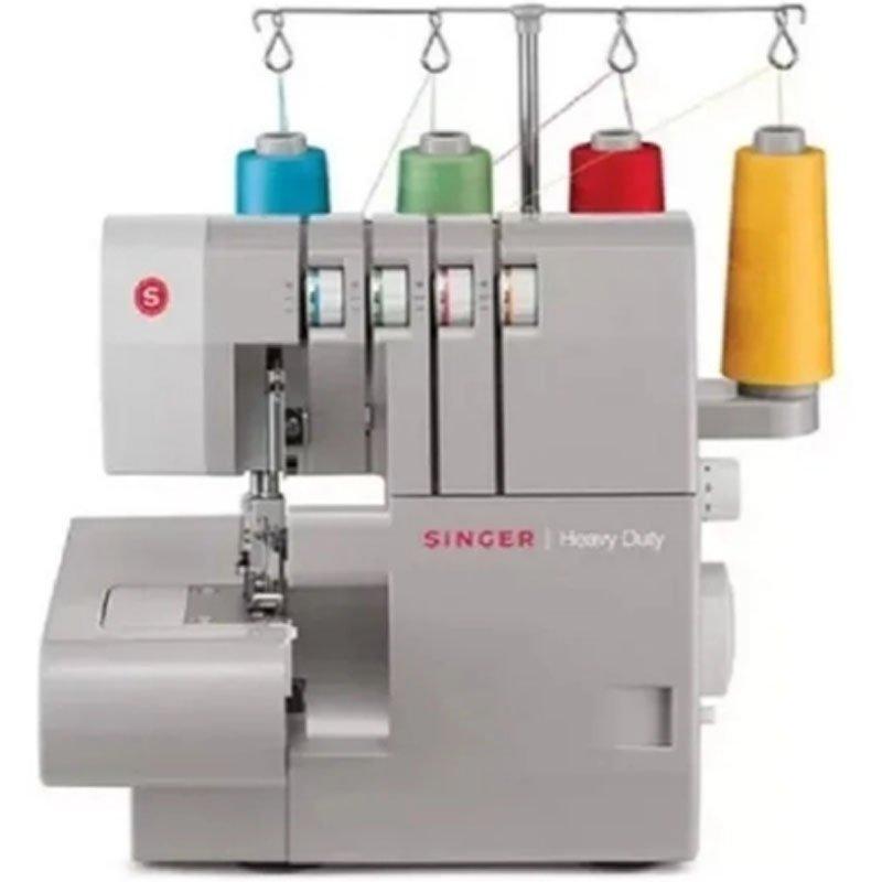 Máquina de costura Singer overloque Ultralock 14HD portatil de uso domestico 220V cinza