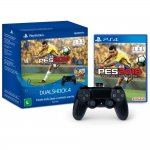 Controle DualShock 4 Sem Fio com Game PES 2018 PS4