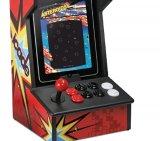 Cabine Portátil para Ipad com Joystick iCade Ion / 8 Botões / Compatível com 100 Jogos Clássicos
