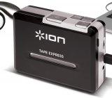 Toca-Fitas Portátil Ion / Transferência para MP3 / Preto