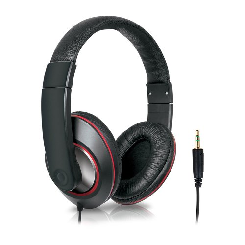 Fone de Ouvido ISOUND Headphone DJ / Preto / IPad / IPhone / IPod / Smartphones / MP3 Players