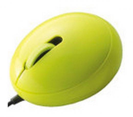 Mini Mouse Egg Ótico M-EG2URGN Elecom / Verde / Conexão USB