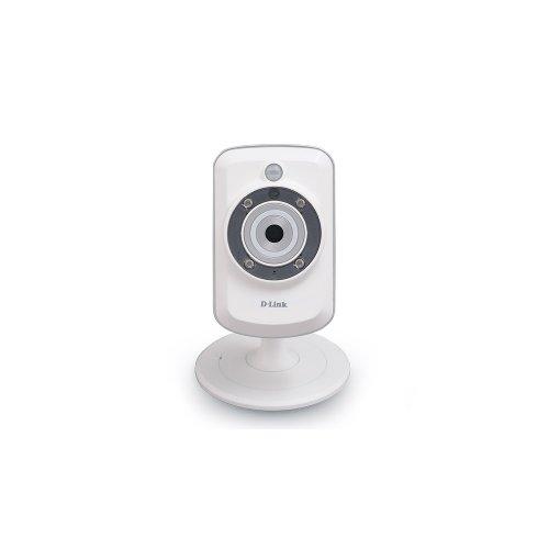 Câmera Wireless D-Link DCS-942L / Zoom 4X / MicroSD / Visão Noturna / Sensor Infra Vermelho