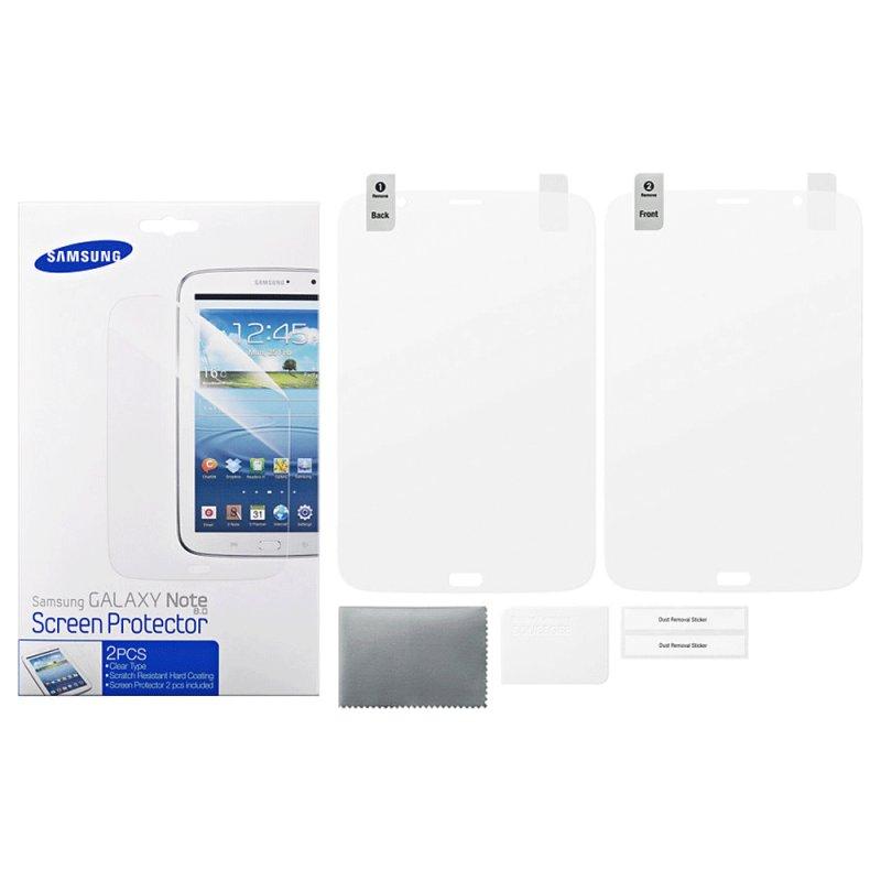 Película Protetora Samsung ET-FN510CTEGWW / para Galaxy Note 8 / Branca