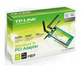 Adaptador Wireless TP-Link / TL-WN851N / PCI 2 / 300Mbps / PCI / 2 Antenas