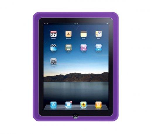Capa de Silicone Merkury / Para iPad / Lilás