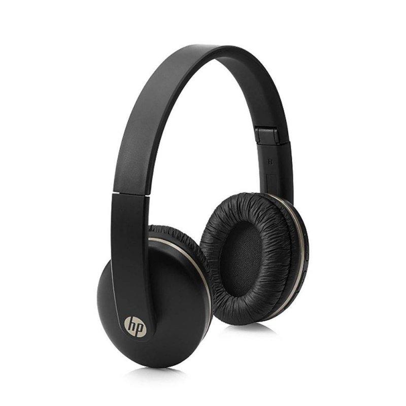 Fone de Ouvido Headset com Microfone Bluetooth Dobrável HP 400 Preto