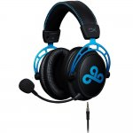HyperX Cloud Alpha Cloud9 Edition - Preto e Azul