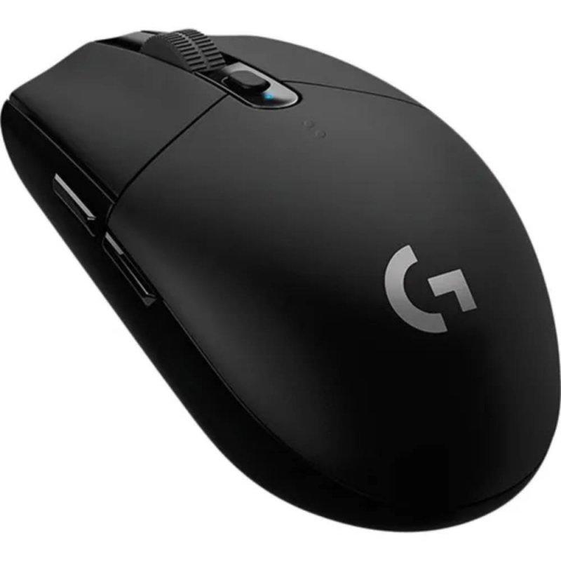 Mouse Gamer Logitech G305 Sem fio Lightspeed 12000 DPI Preto