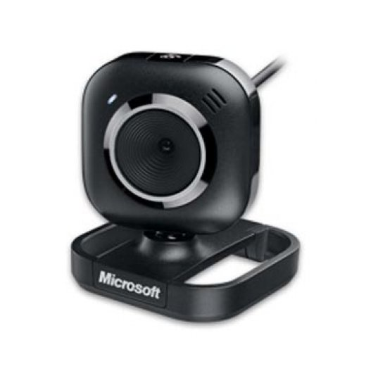 Webcam Microsoft LifeCam 1.3mp c/ microfone USB