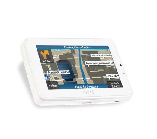 Navegador GPS Airis Voice W4 / 4.3 / Reconhecimento de Voz / Windows CE 6.0 / 2GB