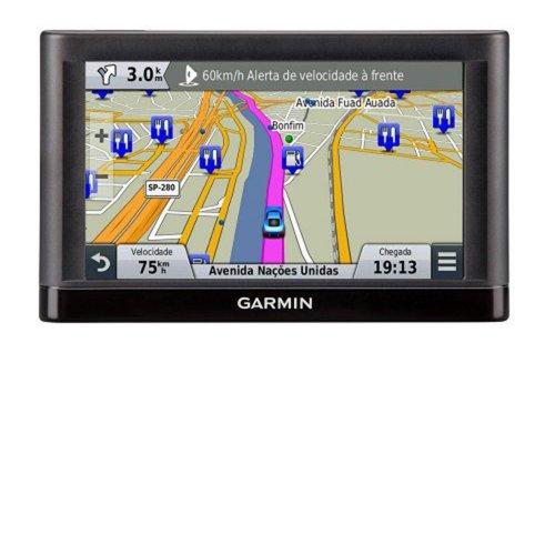 GPS Automotivo Garmin nuvi 65 6 Atualização de Software 2.489 Cidades Touch Screen