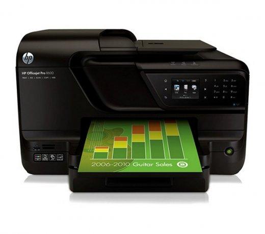 Multifuncional HP Officejet Pro 8600 / Impressora / Scanner / Copiadora / Fax / Colorido