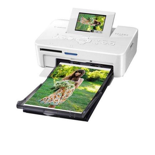 Impressora Fotográfica Canon / Compacta / Visor 2,5 / Branca / Bivolt