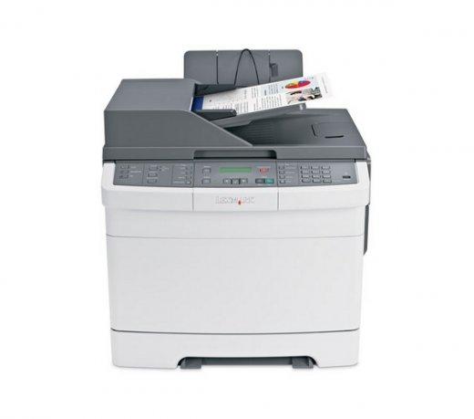 Multifuncional Lexmark X544DN / Laser / Colorida / Saída até 23 ppm