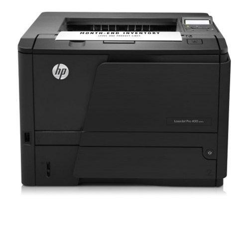 Impressora HP Laser Pro 400 M401n CZ195A#696 / Monocromática / Visor LCD / 35 ppm / Preta / 110V