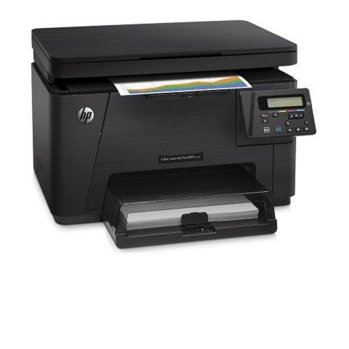 Multifuncional HP Color LaserJet Pro MFP M176n / 20.000 Páginas / 16 ppm / USB / Preta / Bivolt