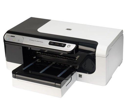 Impressora HP Officejet Pro 8000 / Jato de Tinta / Wireless / Preta com Cinza