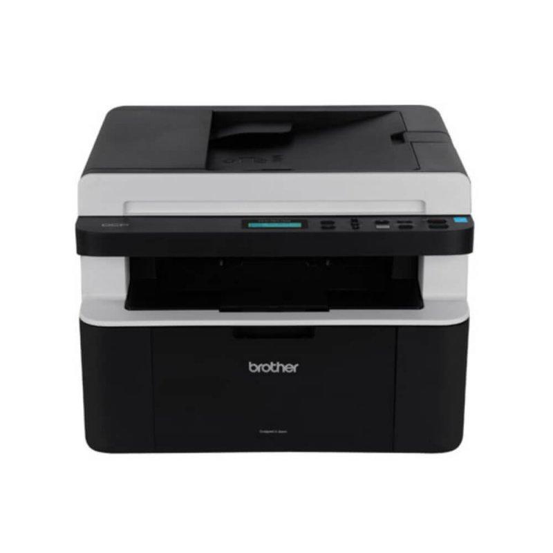 Impressora Multifuncional Laser Brother DCP-1617NW 110V Branca e Preta