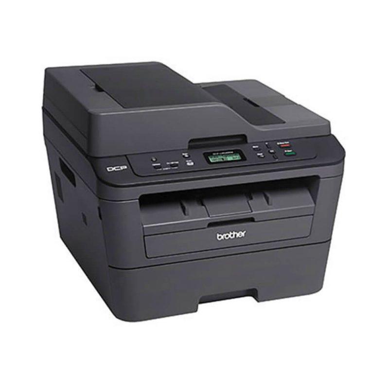 Impressora Multifuncional Laser Brother DCP-L2540DW 110V Preta Monocromática Velocidade 30 ppm