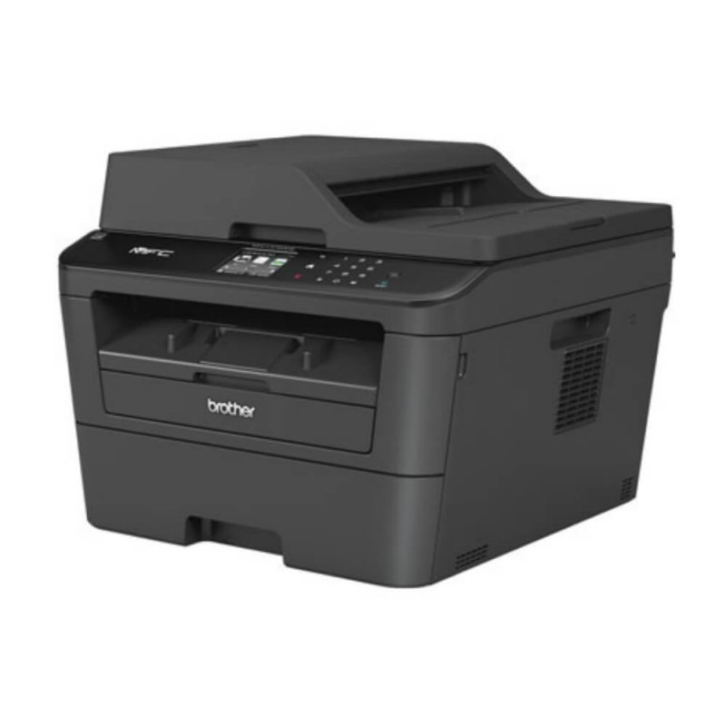 Impressora Multifuncional Laser Brother MFC-L2740DW 127V Preta Monocromática Duplex Velocidade 32ppm