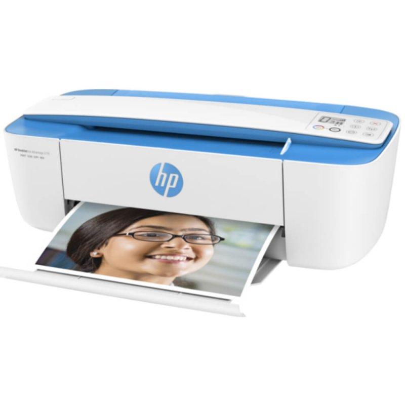Impressora Multifuncional HP Deskjet Ink Advantage 3776 J9V88A Bivolt Branca Display LCD Wi-Fi