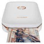 Impressora Fotográfica HP Sprocket 100 Z3Z91A Branca Bluetooth 3.0