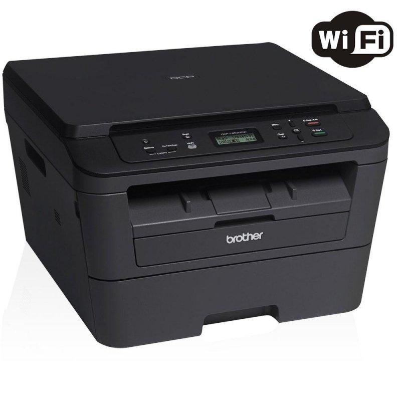 Impressora Multifuncional Brother Laser Monocromática Wi-Fi USB Duplex DCPL2520DW