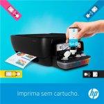 Impressora Multifuncional Tanque de Tinta HP Ink Tank 316 USB Imprime Digitaliza e Copia