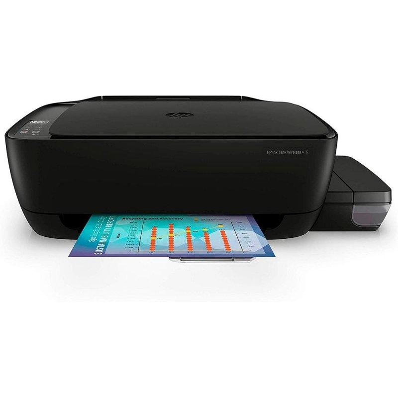 Impressora Multifuncional Tanque de Tinta HP Wireless Imprime Digitaliza e Copia Ink Tank 416