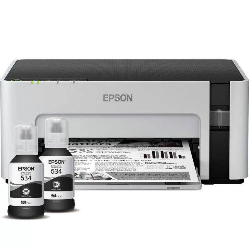 Impressora Epson EcoTank M1120 Monocromática Wireless