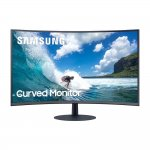Monitor Curvo Samsung 32 LC32T550FDLXZD AMD FreeSync 75Hz HDMI Display Port Curvatura 1000R Preto